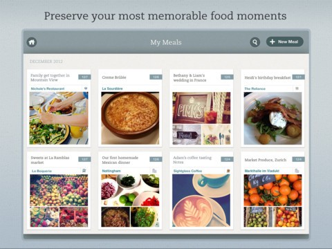 Evernote Food goes full circle on iOS now on iPad along with allnew design