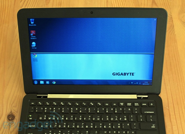 EDIT Gigabyte X11 review slim and powerful, hobbled by its keyboard and battery