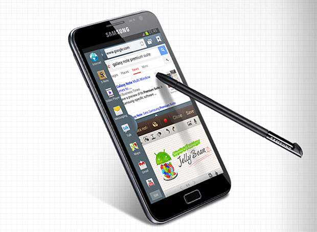 Samsung confirms multiwindow feature and Jelly Bean update for original Galaxy Note