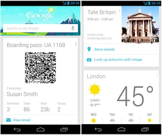Google Now updated with more travelminded features, expanded voice search