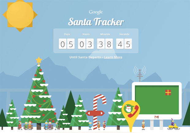 google santa tracker TECHPULSE December 19, 2012