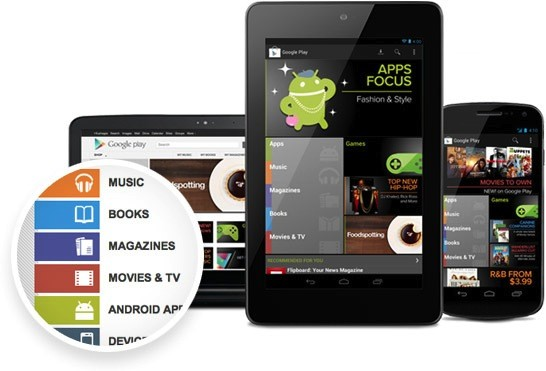Google Play brings Books and Movies to Russia, keeps reaching more audiences