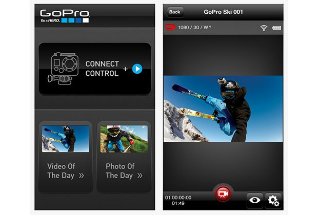 GoPro lets Hero3 owners in on iOS, Android fun with updated app, firmware