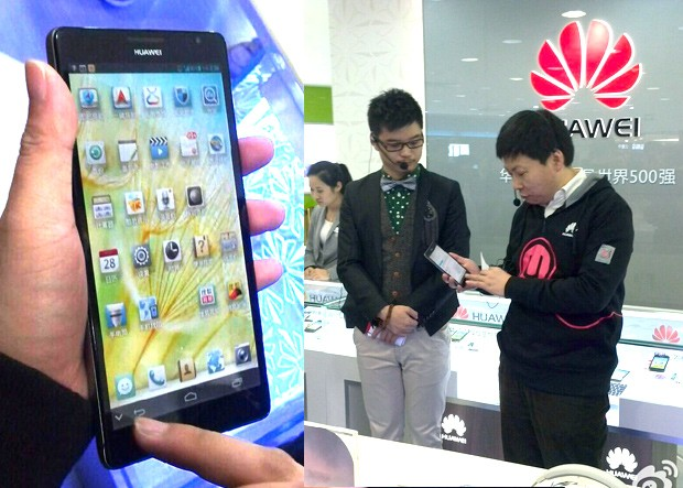 Huawei's 61inch 1080p Ascend Mate flaunted by exec, leaves little surprise for CES