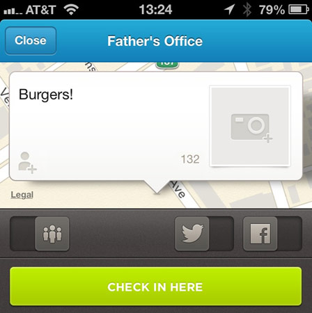 DNP Foursquare refreshes iOS app for streamlined exploring and checkins