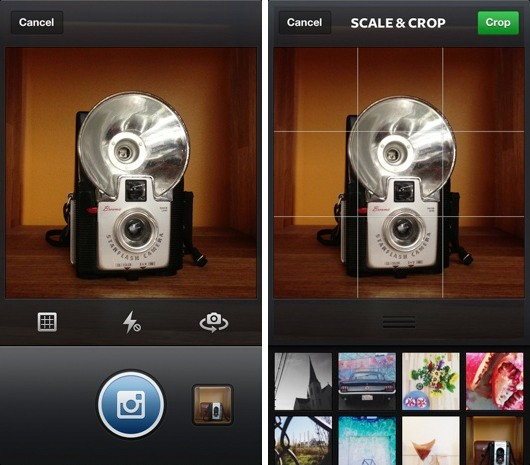 Instagram for iOS gets a newly retroinspired camera, delves into recent photo history