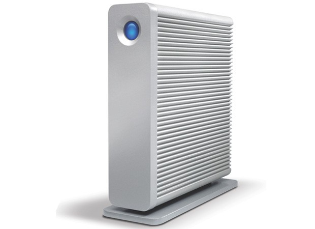 LaCie d2 upgrade melds Thunderbolt and USB 30 in one external drive
