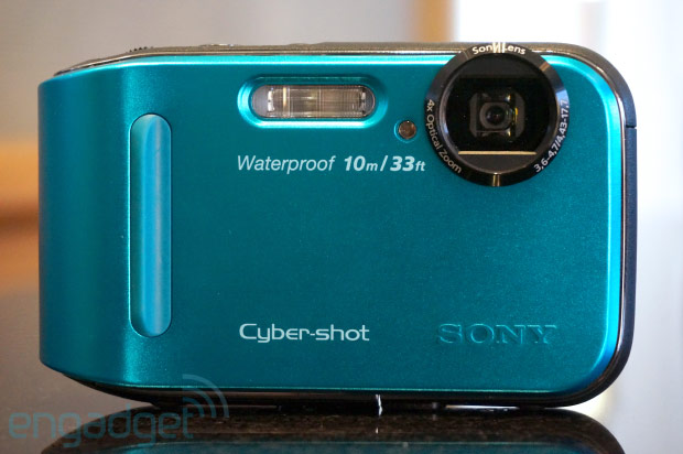 Sony's ruggedized Cybershot TF1 hits this month for $199, we go handson