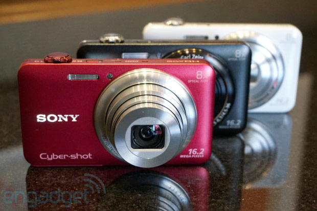 Sony Cybershot WX80 packs WiFi, 10 fps shooting, 12,800 ISO in a $199 pointandshoot handson