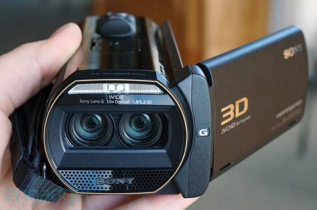 Sony's Handycam TD30V delivers premium feel, 3D shooting for less than a grand handson
