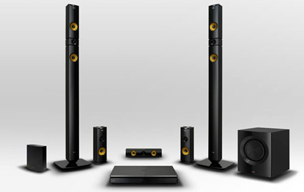 LG's 2013 home theater line includes NFCequipped 91channel surround system, Bluray player