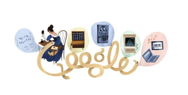 Google Doodle celebrates Ada Lovelace, the worlds first computer programmer