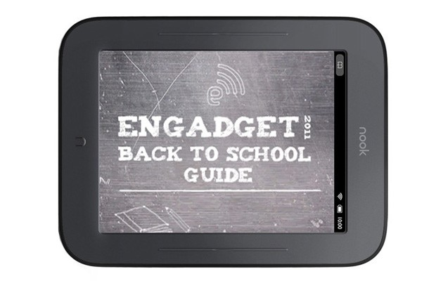Engadget's back to school guide 2011 ereaders