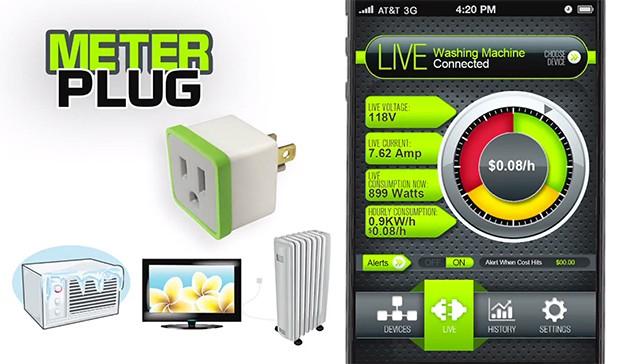 Insert Coin: MeterPlug estimates electricity costs per device, aims to save you some cash