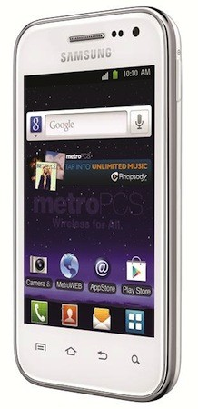 MetroPCS announces the Samsung Galaxy Admire 4G 365inch screen, LTE and $169 price tag