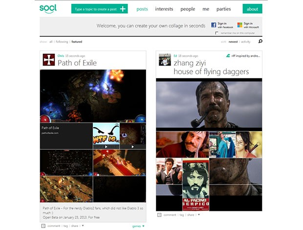 Microsoft launches Socl into Beta, throws its federa into the social networking ring
