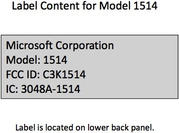 Did the Microsoft Surface with Windows 8 Pro just hit the FCC