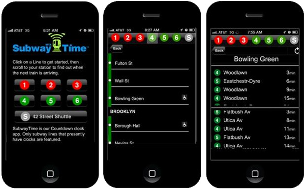 MTA app for iPhone offers New Yorkers realtime subway arrivals, a small dose of relief