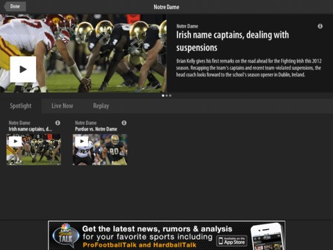 nbc sports live extra ipadsshot NBC Sports and Yahoo Sports cut a deal to fuse internet, TV coverage