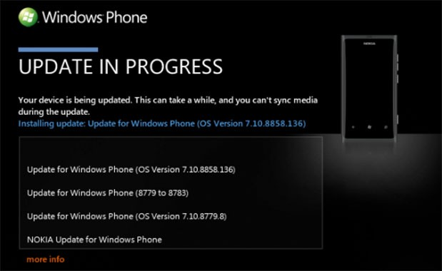 Nokia starts pushing WP 78 to Dutch Lumia 800 users