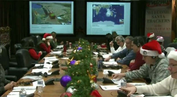 A visit to NORAD's Santa Tracking facility 