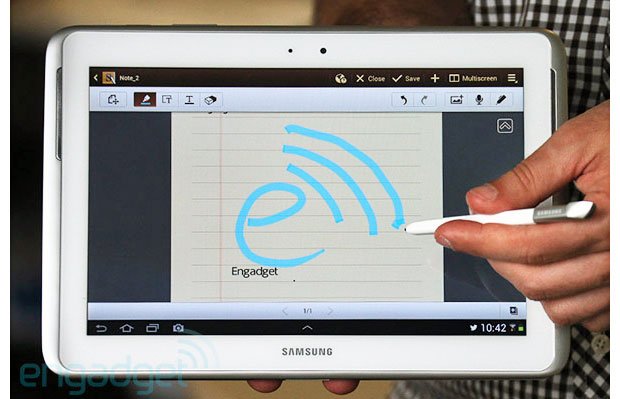 EE introduces the UK&#8217;s first 4G Android tablet: Samsung Galaxy Note 10.1 LTE available starting today