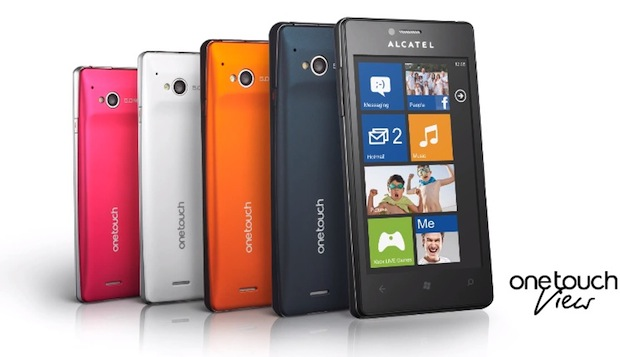 Alcatel's One Touch View with Windows Phone 78 teased in promo video