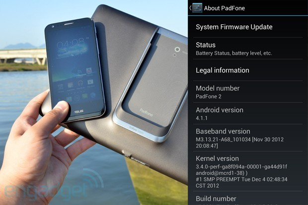 ASUS PadFone 2 Android 41 Jelly Bean update starts arriving over the air