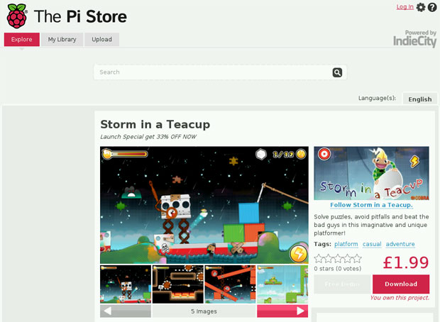 Raspberry Pi launches app store, allows developers to share free and paidfor apps and games
