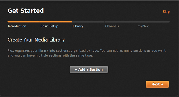 Howto Setting up a Plex Environment