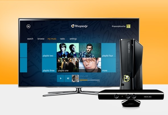 Rhapsody now available on Xbox Live, brings ondemand music to Microsoft's console