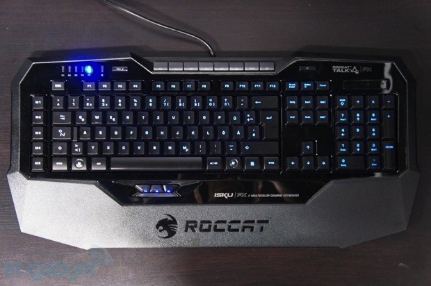 ROCCAT Isku FX keyboard ships worldwide, lights up gaming for $  100
