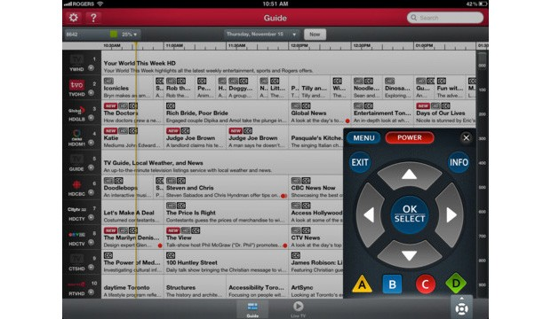 Rogers Anyplace TV Home Edition lets Canadians steer live TV, DVRs from iOS gear