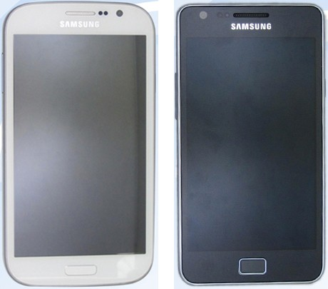 Samsung Galaxy Grand Duos, Galaxy S II Plus possibly spied in Chinese
