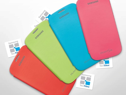 DNP Samsung doles out free flip covers and Tectiles if you register your device, only S III and Note II owners may apply