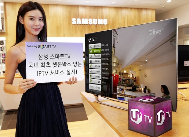 Samsung HDTVs get an IPTV app for LG U in Korea, most US providers are still slacking