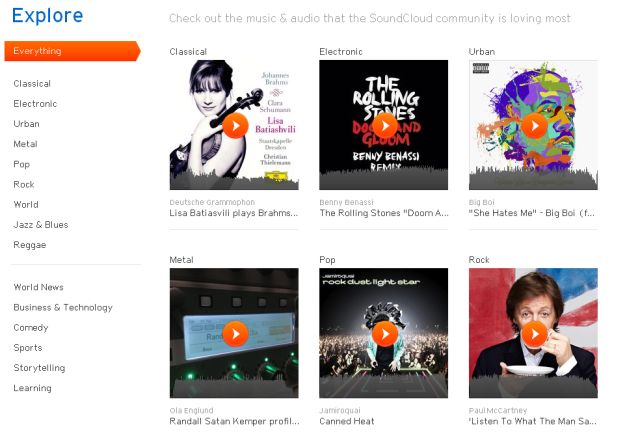 Editorial: the new SoundCloud is optimized for listeners, not uploaders