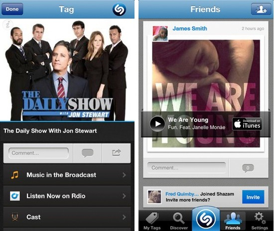Shazam for iOS gets a revamped UI, shares your lack of music knowledge with Google