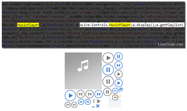 Code hints Microsoft may add direct music playback to SkyDrive