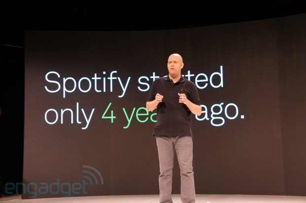 Spotify doubles user base in last year, 1 million paid subscribers in the US