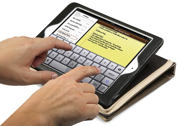 BookBook arrives for iPad mini, delivers a novellasized tablet disguise