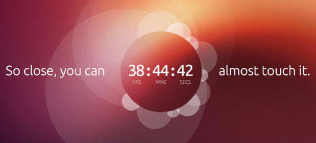 Ubuntu teaser counts down to January 2nd launch, hints at touchbased OS