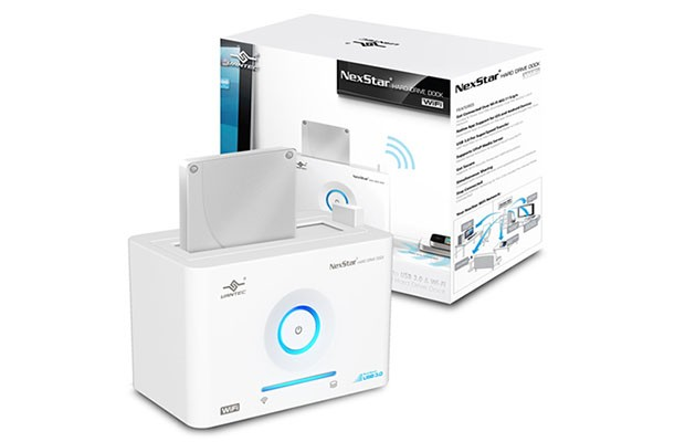Vantec launches NexStar WiFi hard drive dock along with iOS, Android apps
