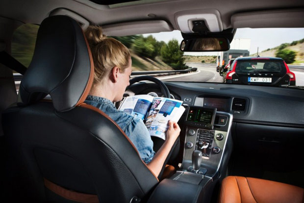 DNP  Volvo wants to put the auto back in automobile, envisions accidentfree cars in 2020