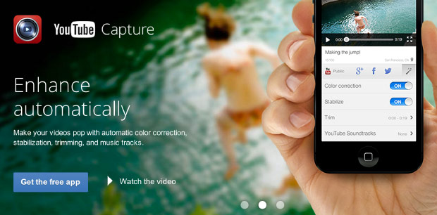 youtubecapture YouTube launches Capture iOS app for smartphone shooting straight to the web (video)