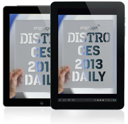 Distros CES 2013 Daily Issue 731 is hot off the digital press