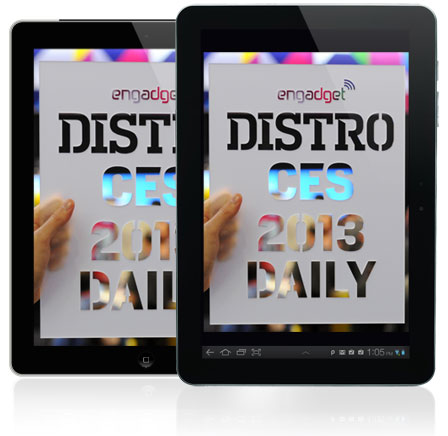 Distros CES 2013 Daily Issue 733 has arrived!