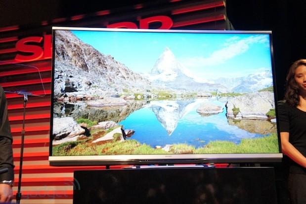 Sharp AQUOS Ultra HD, 1080p HDTVs eyeson