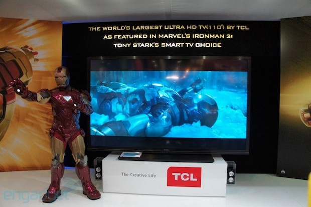 TCL shows off MoVo Google TV box, 'China Star' 110inch 4K TV