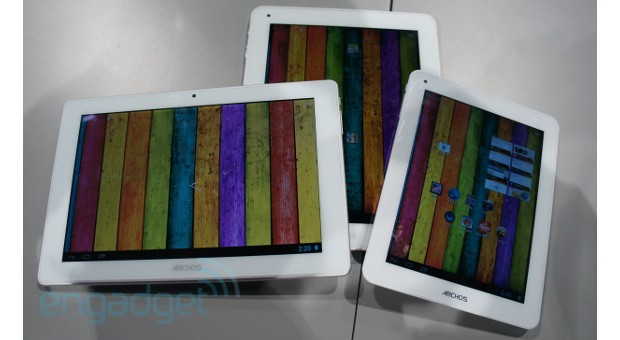 Archos Titanium tablet hands-on